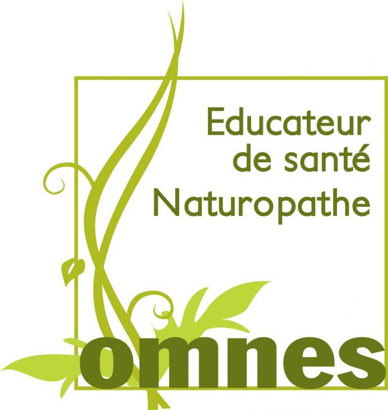 Logo omnes éducatuer de santé naturopathe